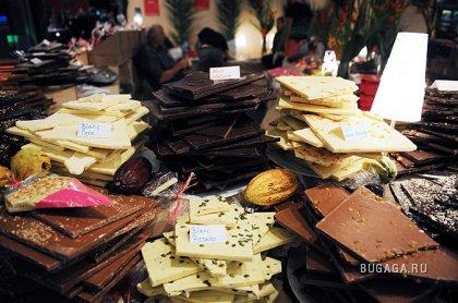 Ежегодная шоколадная ярмарка в Париже