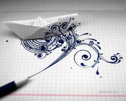 Украинская SHCH graphics group рисует везде где вздумается...