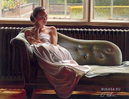 Женские образы на картинах Robа Hefferanа