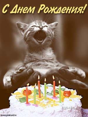 поздравление с днем рождения голой девушкой