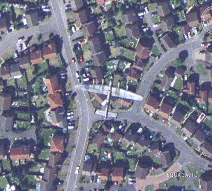Самые странные Достопримечательности в Google Earth