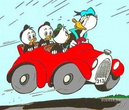 Donald Duck's Car в реальной жизни