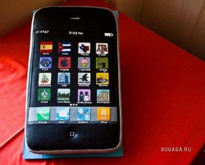 Свадебный торт в виде Iphone