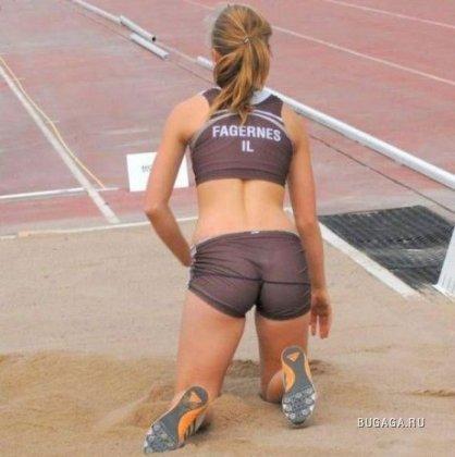 Пикантные спортивные моменты