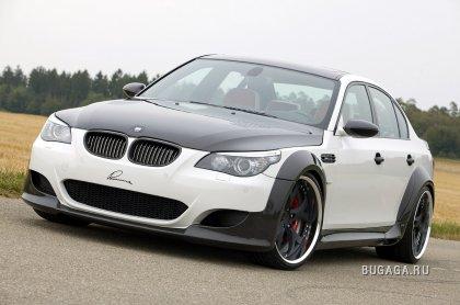 Заряженный BMW M5 CLR 730 RS от Lumma Design