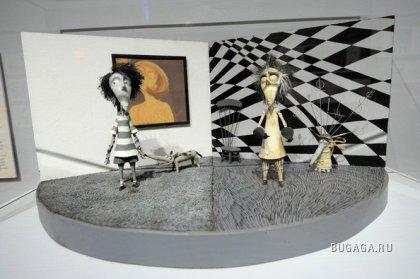 Картинки с выставки Тима Бертона