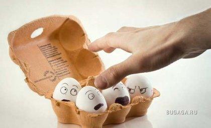 39 креативно раскрашенных яиц