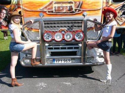 Финский Power Truck Show 2009
