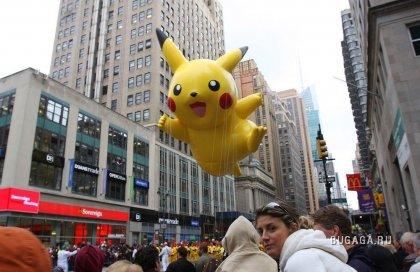 Парад в День благодарения 2009 в Нью-Йорке