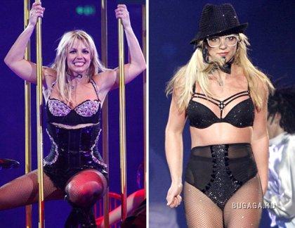 Бритни Спирс в белье на сцене Брисбейна