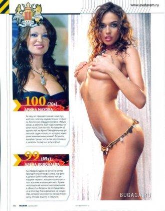 100 самых сексуальных по версии Maxim