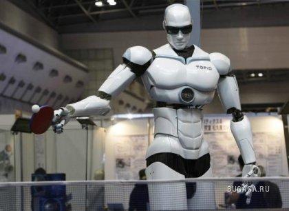 Выставка роботов в Токио