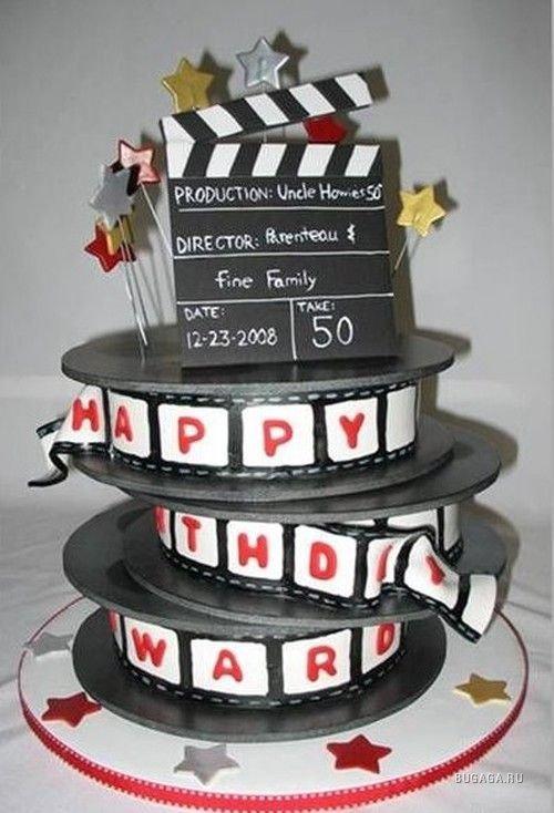 Открытка режиссеру с днем рожденья или рождения, картинки для