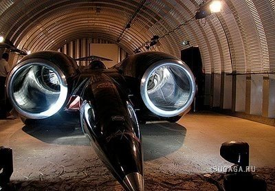 Thrust SSC - самое быстрое средство передвижения