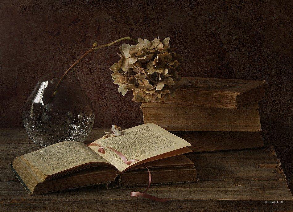 натюрморт с книгами: