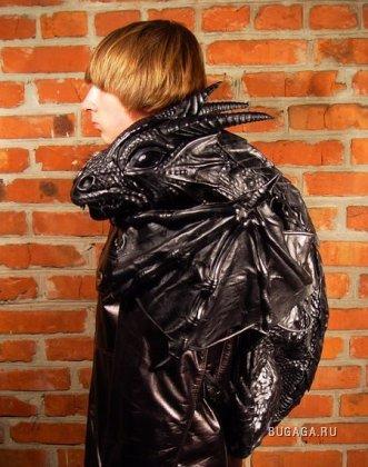 Дракон-рюкзак