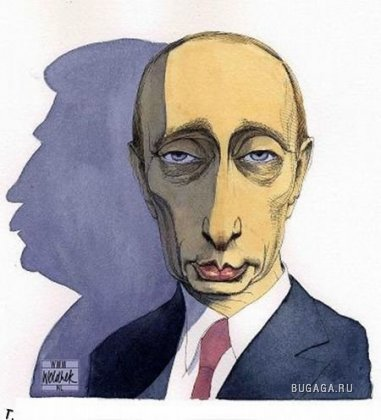 В. В. Путин глазами зарубежных карикатуриств