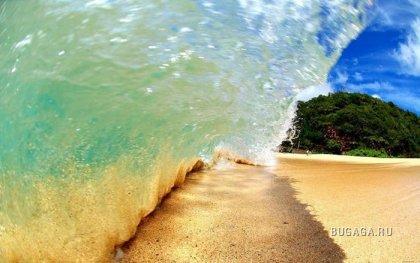 Фотографии гавайских волн