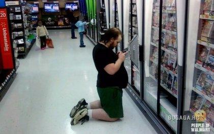 Фрики в супермаркетах