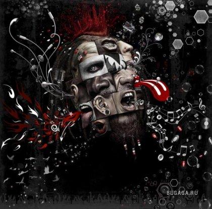 Лучшие ретушеры мира 2009 - креативная студия Platinum FMD