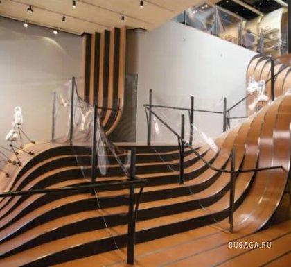 Необычные лестницы со всего мира