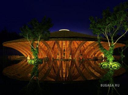 Необыкновенные строения из бамбука вьетнамского архитектора Vo Trong Nghia