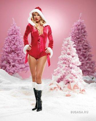 Сексуальные снегурки демонстрируют нижнее белье (32 HQ фото)