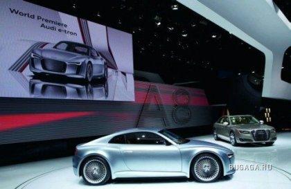 Концепт-кар Audi e-tron R4