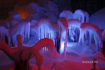 Ледяной Дворец в Швейцарии