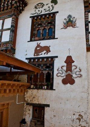 Настенная живопись и ремесло Бутана