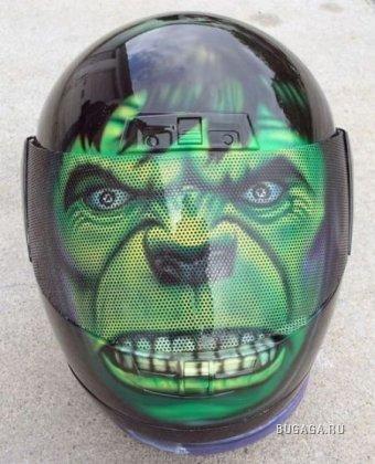 Крутые байкерские шлемы