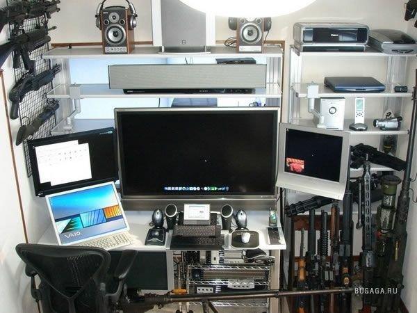 Компьютерный зал своими руками