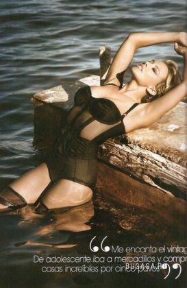 Кайли для февральского Vogue Spain