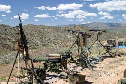 Крупнейшее стрельбище в пустыне