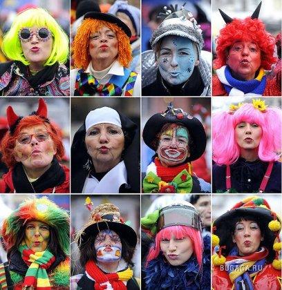 Стартовал Кельнский карнавал