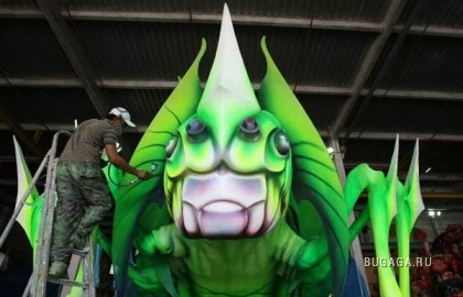 Карнавал в Рио 2010