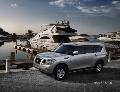 Компания Nissan показала следующее поколение внедорожника Patrol