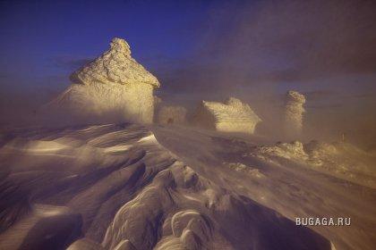 Снежная красота