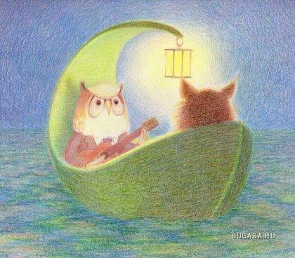 Чудесные иллюстрации Kathy Hare