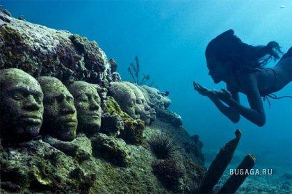 Парк подводных скульптур Jason de Caires Taylor