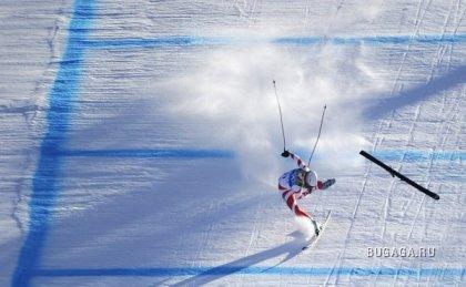 Падения на зимних Олимпийских играх 2010