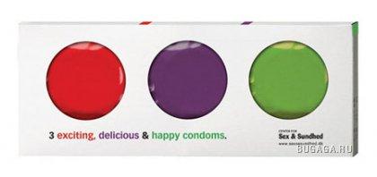 Креативная упаковка презервативов
