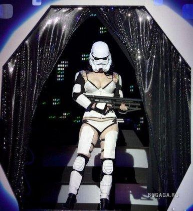 Необычный стриптиз Звездные войны
