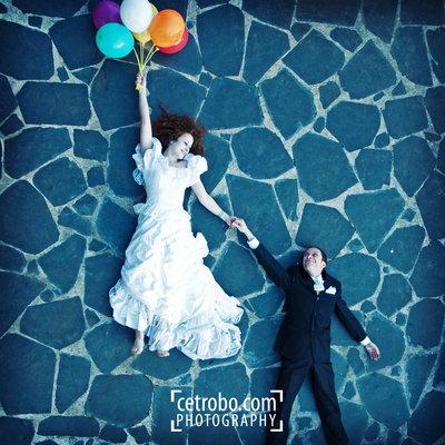 Свадебный креатив от фотографа cetrobo