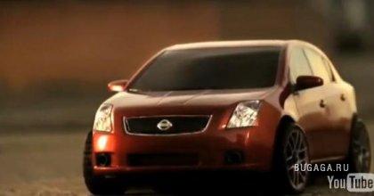Креативная реклама от Nissan-a