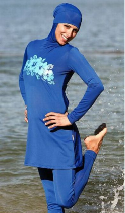 Буркини – купальники для мусульманских девушек и женщин