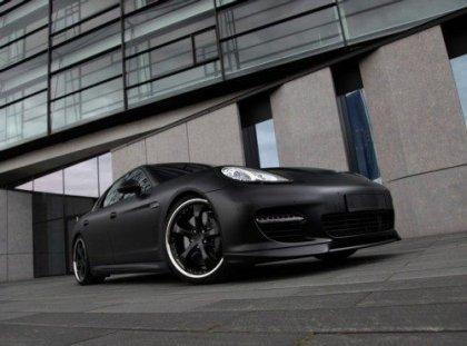Матовый Porsche Panamera