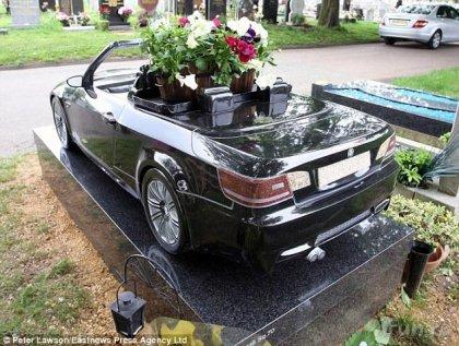 BMW-надгробье