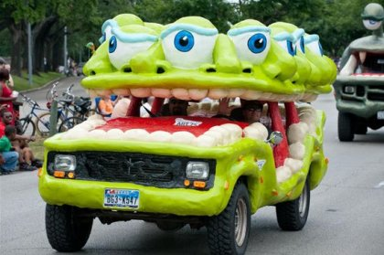 Автомобильный Арт Парад в Хьюстоне