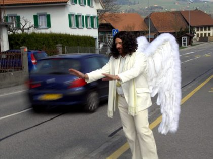 Придорожный ангел-хранитель